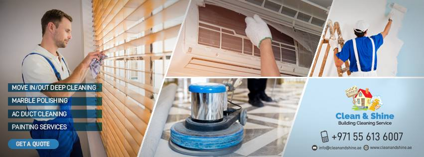 Clean and Shine Building Cleaning Services