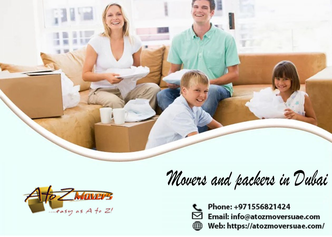 Movers and packers in Dubai, Professional movers in Dubai